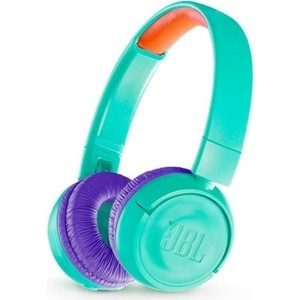 Наушники JBL JR300BT teal наушники bluetooth jbl e55bt teal jble55bttel