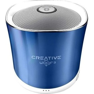 Портативная колонка Creative Woof 3 blue