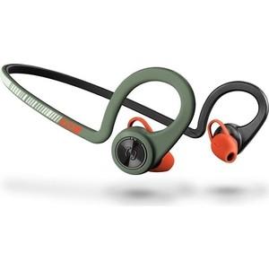 Фотография товара наушники Plantronics BackBeat Fit зеленый/оранжевый (823341)