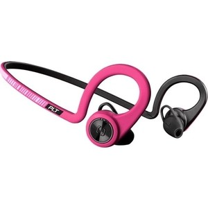 Фотография товара наушники Plantronics BackBeat Fit розовый/черный (823342)