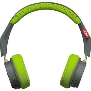 Фотография товара наушники Plantronics BackBeat 500 серый/зеленый (823347)