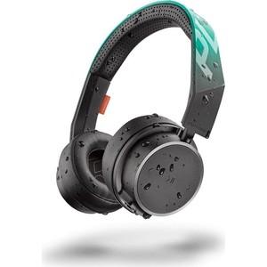Наушники Plantronics BackBeat Fit 500 черный/зеленый цена