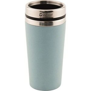 Кружка-термос Outwell Vacuum Bamboo Mug Iris Blue (650664) small vacuum pump 617cd32 small ac oil free vacuum pump