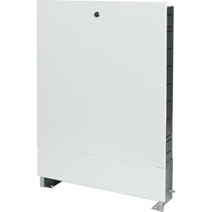 Шкаф распределительный STOUT встроенный 4-5 выходов (ШРВ-1) 670х125х496 мм (SCC-0002-000045) шкаф коллекторный stout scc 0001 000045 651х120х454 мм наружный