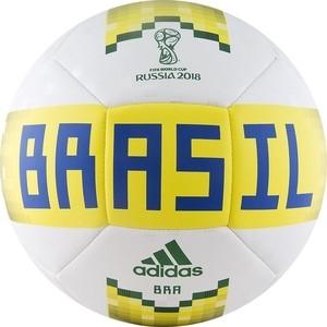 Мяч футбольный Adidas WC2018 Capitano CBF CF2310 р5