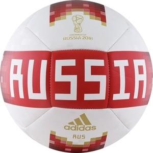 Мяч футбольный Adidas WC2018 Capitano RFU (CF2311) р.5 мяч футбольный select talento арт 811008 005 р 3