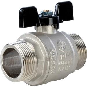 Кран STOUT шаровой полнопроходной НР ручка бабочка 1 1/4 (SVB-0006-000032) кран шаровой brand new ac 220v 16 x 1 solenoid valve