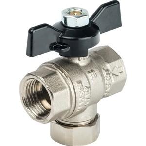 Кран STOUT шаровой с фильтром 1/2 (ручка-бабочка) (SVF 0002 000015) кран шаровой brand new ac 220v 16 x 1 solenoid valve