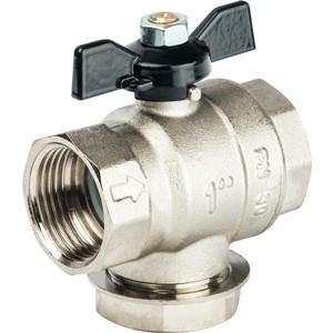 Кран STOUT шаровой с фильтром 1 (ручка-бабочка) (SVF 0002 000025) кран шаровой brand new ac 220v 16 x 1 solenoid valve