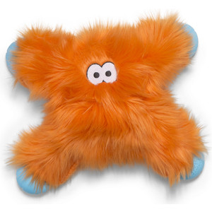 все цены на Игрушка Zogoflex Zogoflex Rowdies Lincoln плюшевая оранжевая 28 см для собак (West Paw Design)