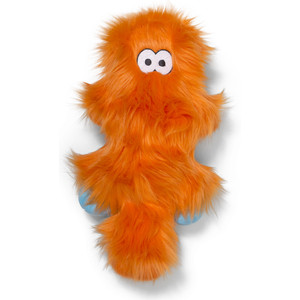 Игрушка Zogoflex Zogoflex Rowdies Sanders плюшевая оранжевая 17 см для собак (West Paw Design) игрушка для собак zogoflex bumi длина 25 4 см