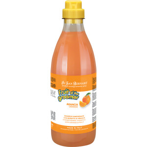 Шампунь Iv San Bernard Fruit of the Grommer Orange Strengthening Shampoo укрепляющий с силиконом для слабой выпадающей шерсти животных 1 л маска iv san bernard fruit of the grommer orange strengthening mask укрепляющая с силиконом для слабой выпадающей шерсти животных 3 л