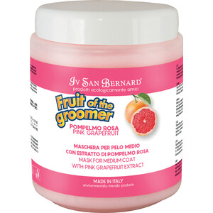 Маска Iv San Bernard Fruit of the Grommer Pink Grapefruit Mask for Medium Coat восстанавливающая с витамином B6 для шерсти средней длины 1 л michael wolfe the conversion of henri iv – politics power