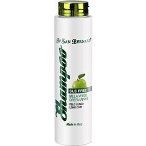 цена на Шампунь Iv San Bernard Traditional Line Plus Shampoo Green Apple Long Coat SLS Free для длинной шерсти животных 300 мл