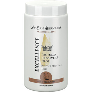 Фотография товара пудра Iv San Bernard Traditional Line Excellence Powder Perfume Talc с ароматом талька для животных 80 гр (823993)