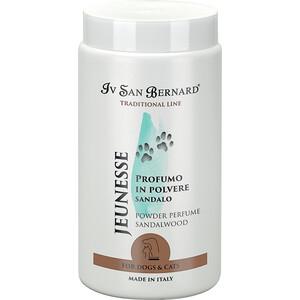 Фотография товара пудра Iv San Bernard Traditional Line Jeunesse Powder Perfume Sandalwood с ароматом сандалового дерева для животных 80 гр (823994)