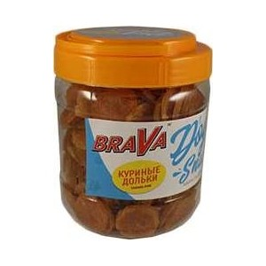 Фотография товара лакомство BraVa Dog Snacks куриные дольки для собак 600 г (110690) (824021)