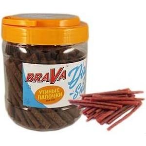 Лакомство BraVa Dog Snacks утиные палочки для собак 700 г (110693) фурминатор для собак короткошерстных пород furminator short hair large dog