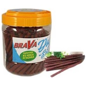Лакомство BraVa Dog Snacks палочки из мяса ягнёнка для собак 700 г (110694) automatic spanish snacks automatic latin fruit machines