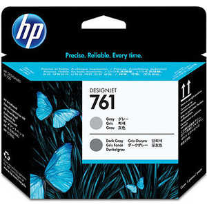 HP Печатающая головка 761 Designjet (серый/темно серый) (CH647A) hot sales 80 printhead for hp80 print head hp for designjet 1000 1000plus 1050 1055 printer