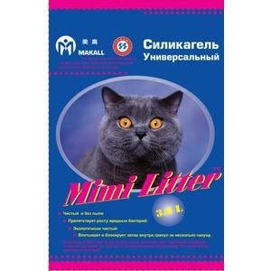 Наполнитель Mimi Litter Силикагель универсальный впитывающий для кошек 7.2 л (3.6 кг) (М-7220131) наполнитель n1 crystals впитывающий силикагель для кошек 30л 92208