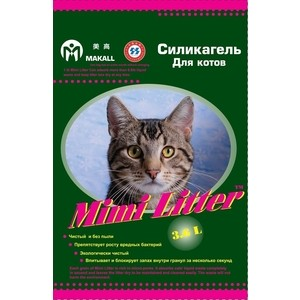 Наполнитель Mimi Litter Силикагель впитывающий для котов 7.2 л (3.6 кг) (М-7220132) aluminum wall mounted square antique brass bath towel rack active bathroom towel holder double towel shelf bathroom accessories