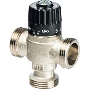 Смесительный клапан STOUT термостатический для систем отопления и ГВС 1 НР 30-65°С KV 2.3 (SVM-0025-236525) stout термостатический смесительный клапан для систем отопления и гвс g 1 4 нр 20 43°с kv 1 6