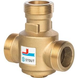 Смесительный клапан STOUT термостатический G 1 1/4 НР 70°С (SVM-0030-325508) смесительный клапан stout термостатический для систем отопления и гвс 1 нр 20 43°с kv 2 5 svm 0020 254325