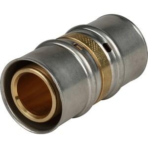Соединение STOUT равнопроходное 32х32 для металлопластиковых труб прессовой (SFP-0003-003232) stout муфта соединительная равнопроходная 26х26 для металлопластиковых труб прессовой