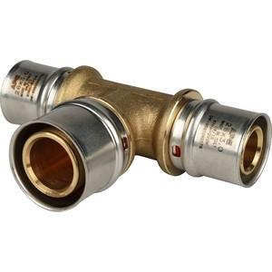 Тройник STOUT переходной 26х32х26 для металлопластиковых труб прессовой (SFP-0005-263226) stout муфта соединительная равнопроходная 26х26 для металлопластиковых труб прессовой