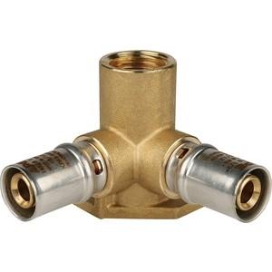 Тройник STOUT настенный с креплением 1/2 х 16 для металлопластиковых труб прессовой (SFP-0015-001216) шампур угловой сокол 450 х 10 х 1 62 0015