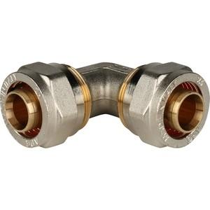 Угольник STOUT 90° 26х26 для металлопластиковых труб винтовой (SFS-0003-002626) stout муфта соединительная 26х26 для металлопластиковых труб винтовой