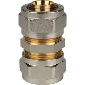 Соединение STOUT 26х26 для металлопластиковых труб винтовой (SFS-0005-000026) stout муфта соединительная 26х26 для металлопластиковых труб винтовой
