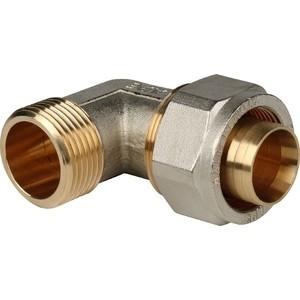Угольник STOUT переходной с наружной резьбой 1 х 32 для металлопластиковых труб винтовой (SFS-0006-000132) тройник stout переходной 26х20х20 для металлопластиковых труб винтовой sfs 0010 262020