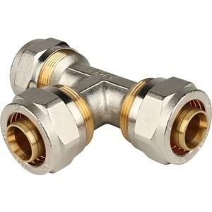 Тройник STOUT равнопроходной 26х26х26 для металлопластиковых труб винтовой (SFS-0009-000026) тройник stout переходной 26х20х20 для металлопластиковых труб винтовой sfs 0010 262020