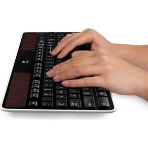 Клавиатура Logitech Wireless Solar Keyboard K750 Black USB (920-002938)