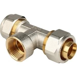 Тройник STOUT переходной с внутренней резьбой 1 х 32 для металлопластиковых труб винтовой (SFS-0012-000132) firat тройник с внутренней резьбой 32 1