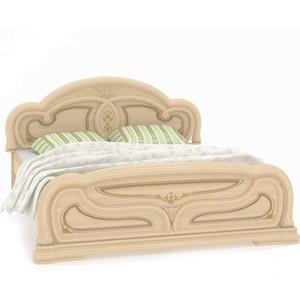 Кровать Шатура Марта-М беж A84-03.28Ш 1600 мм шатура кровать с поддоном 23
