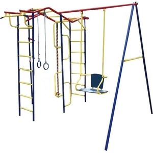 Детский комплекс c качелями Пионер дачный (Вираж ТК-2) детская игровая площадка пионер дачный мини с качелями на подшипниках тк