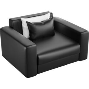 Кресло АртМебель Мэдисон эко-кожа черный цена 2017