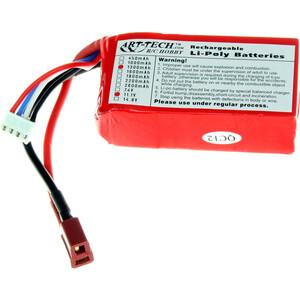 все цены на Аккумулятор Art-Tech LiPo 11.1 V 3S 20C 1300 mAh - 3F025 онлайн