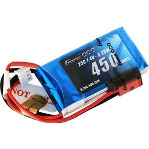 Аккумулятор Gens Li-Po 7.4 V 450 mAh 25C (2S1P) - B25C45-2S аккумулятор traxxas li po 7 4в 2s 25c 3300мач