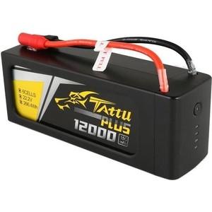 Аккумулятор Gens Li-Po 14.8 V 12500 mAh 15C (4S1P) TATTU Plus - TA-PLUS-15C-12000-6S1P аккумулятор gens li po 14 8 v 2300 mah 45c 4s1p ec3 xt60 deans