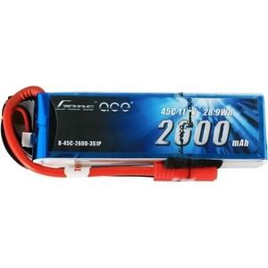 Аккумулятор Gens Li-Po 11.1 V 2600 mAh 45C (3S1P, EC3, XT60, Deans) - GA-B-45C-2600-3S1P-Deans cable 2600