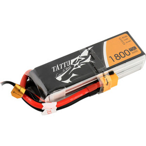 Аккумулятор Gens Li-Po 14.8 V 1800 mAh 75C (4S1P, EC3, XT60, Deans) - TA-75C-1800-4S1P-XT60 аккумулятор team orion li po 14 8 v 4s 2300 mah 55c softcase xt60 racing drone battery
