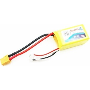 Фотография товара аккумулятор Pulsar Li-pol 14.8 V 850 mAh, 40C, 3s1p, XT60 - Puls-LiPo-850-4S-40C (825776)