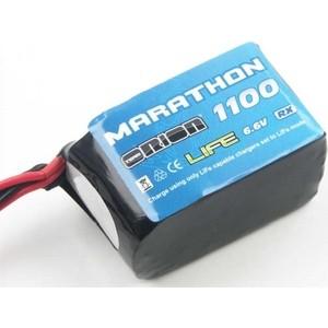 Аккумулятор Team Orion Marathon Life Hump RX LiFe 6.6 V 2S 30С 1100 mAh - ORI12258 аккумулятор team orion marathon receiber pack ni mh 6в hump 5s 1600 мач