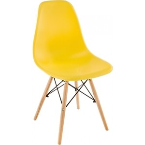 Стул Woodville Eames PC-015 yellow