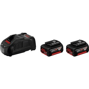 Зарядное устройство Bosch 18 V, 5,0 Ач + GAL 1880 CV (1.600.A00.B8J) базовый комплект bosch gba 10 8v 2 5ah ow b gal 1830 w 1600a00j0f