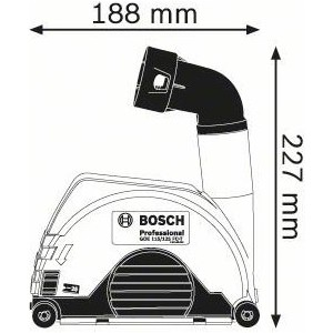 Насадки для пылеудаления Bosch GDE 115/125 FC-T (1.600.A00.3DK) аксессуар насадка для пылеудаления bosch gde 230 fc t 1600a003dm